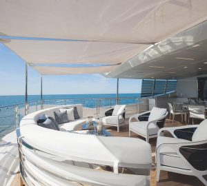 42m Benetti charter yacht 'H' offering reduced rates in France and Italy