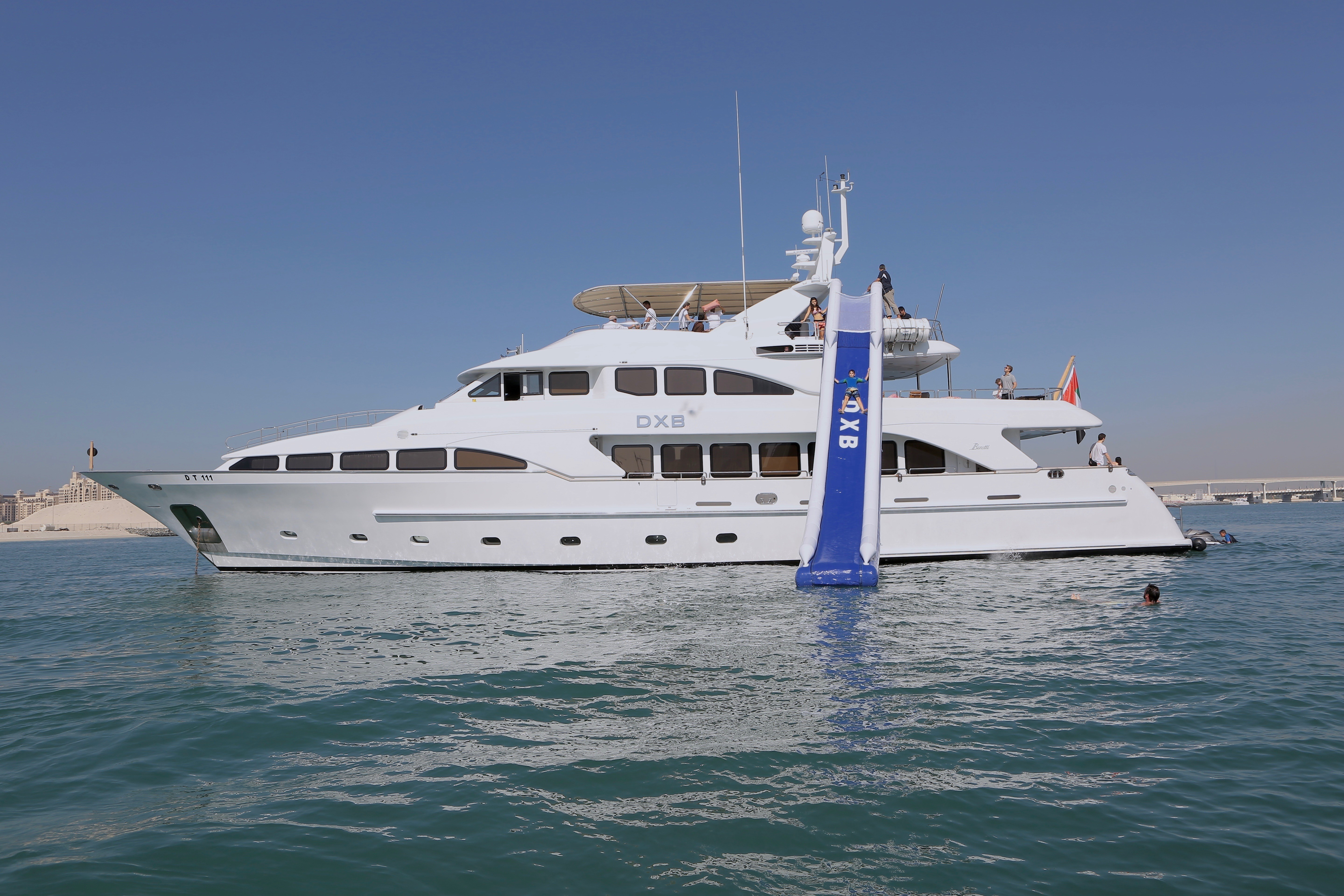 fun on a charter holiday with DBX yacht by Benetti