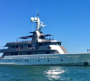 53M superyacht MIZU yacht charter special in the Bahamas
