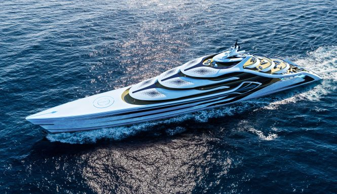 Luxury Yacht Acionna The Stunning New Concept From Andy