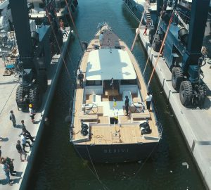 30m Sailing Yacht BEBIVI launched in Italy
