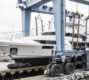 Motor Yacht Benetti Classic Supreme 132' Hull 11 launched in Italy