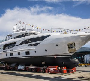 Benetti launches M/Y Zehra, third hull in the Delfino 95' series