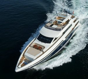 5% Charter Discount in Ibiza with 45m superyacht TATIANA