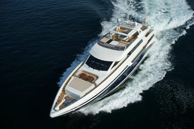 Bilgin Superyacht Tatiana available for charter in Ibiza