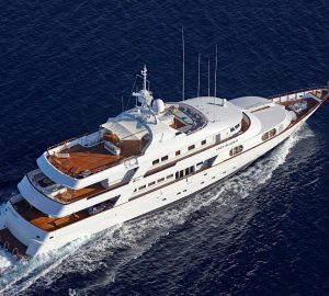 48m charter yacht LADY ELLEN II available at reduced rate in Greece