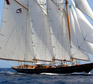 54m Classic schooner SHENANDOAH OF SARK offering 15% discount in the Balearics