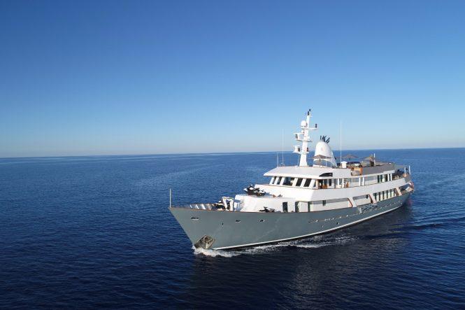 Classic luxury yacht MENORCA