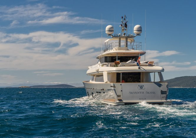 Cruising motor yacht SEVENTH SENSE