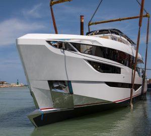 Dominator 28M Ilumen motor yacht CADET V launched