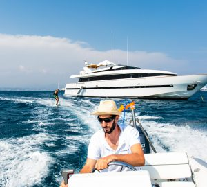 32m luxury yacht PAS ENCORE is offering reduced weekly rates in West Med this summer