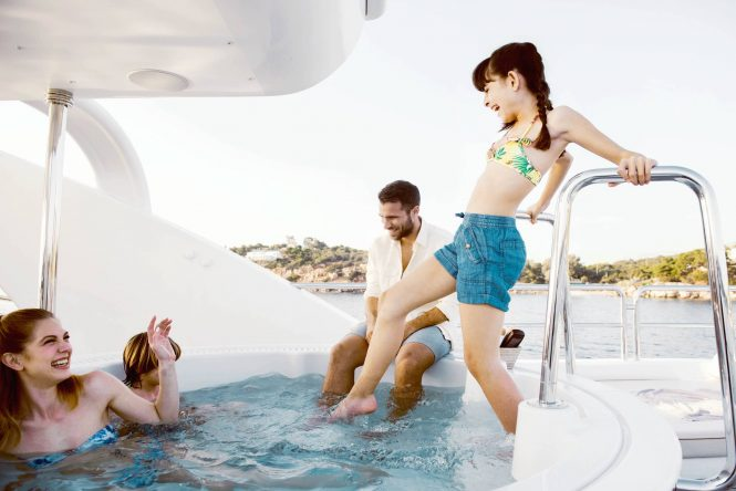 Enjoying the superyacht lifestyle with family aboard OASIS