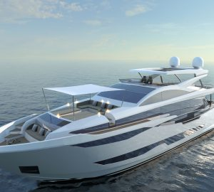 New Pearl 95 flagship superyacht to be unveiled at Cannes Yachting Festival