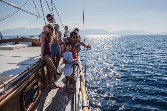 Family fun aboard luxury gulet ERATO