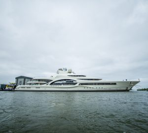 Exclusive Photos of Feadship 110m Mega Yacht Project 1007