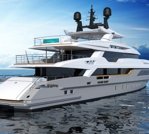 48m Baglietto superyacht nearing completion