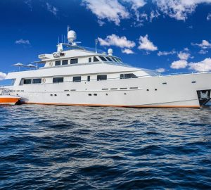 Superyacht LIONSHARE offering reduced rates for charters from Sardinia to Naples