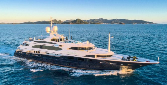 Luxury motor yacht ANDIAMO available for charter in the Mediterranean