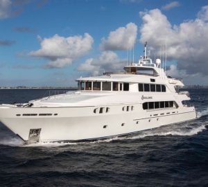 45m Superyacht EXCELLENCE offering 10% off this summer in the BAHAMAS