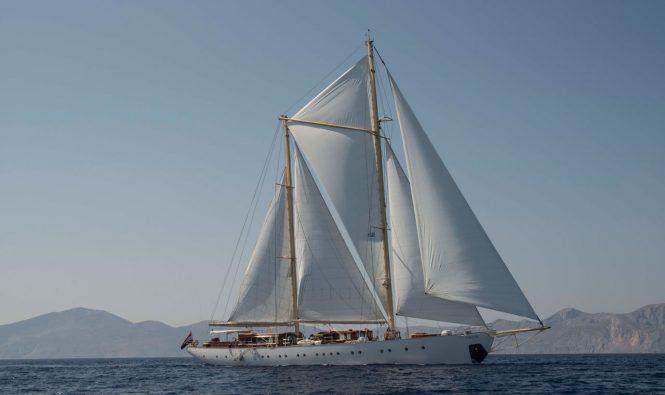 Luxury sailing yacht RHEA