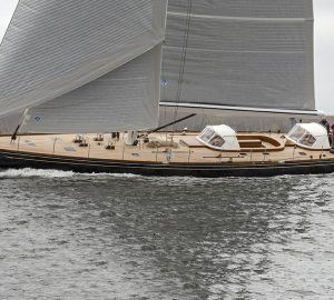 28m Custom Sailing Yachts SONNY III Completes Sea Trials