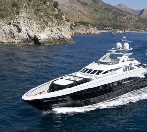 Absolute BLISS! 44m superyacht offering reduced Greece charter rates