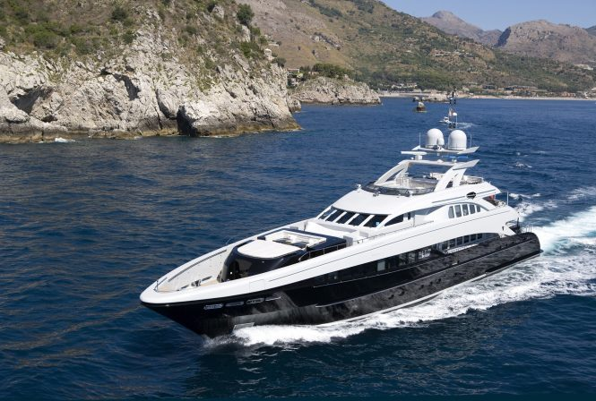 Luxury superyacht BLISS by Heesen available in the Mediterranean