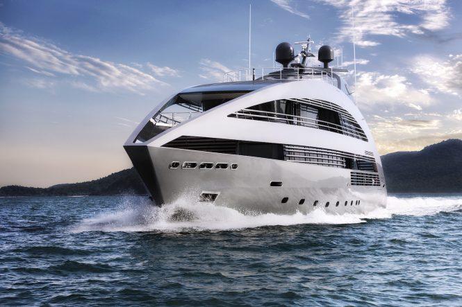 Luxury superyacht OCEAN EMERALD