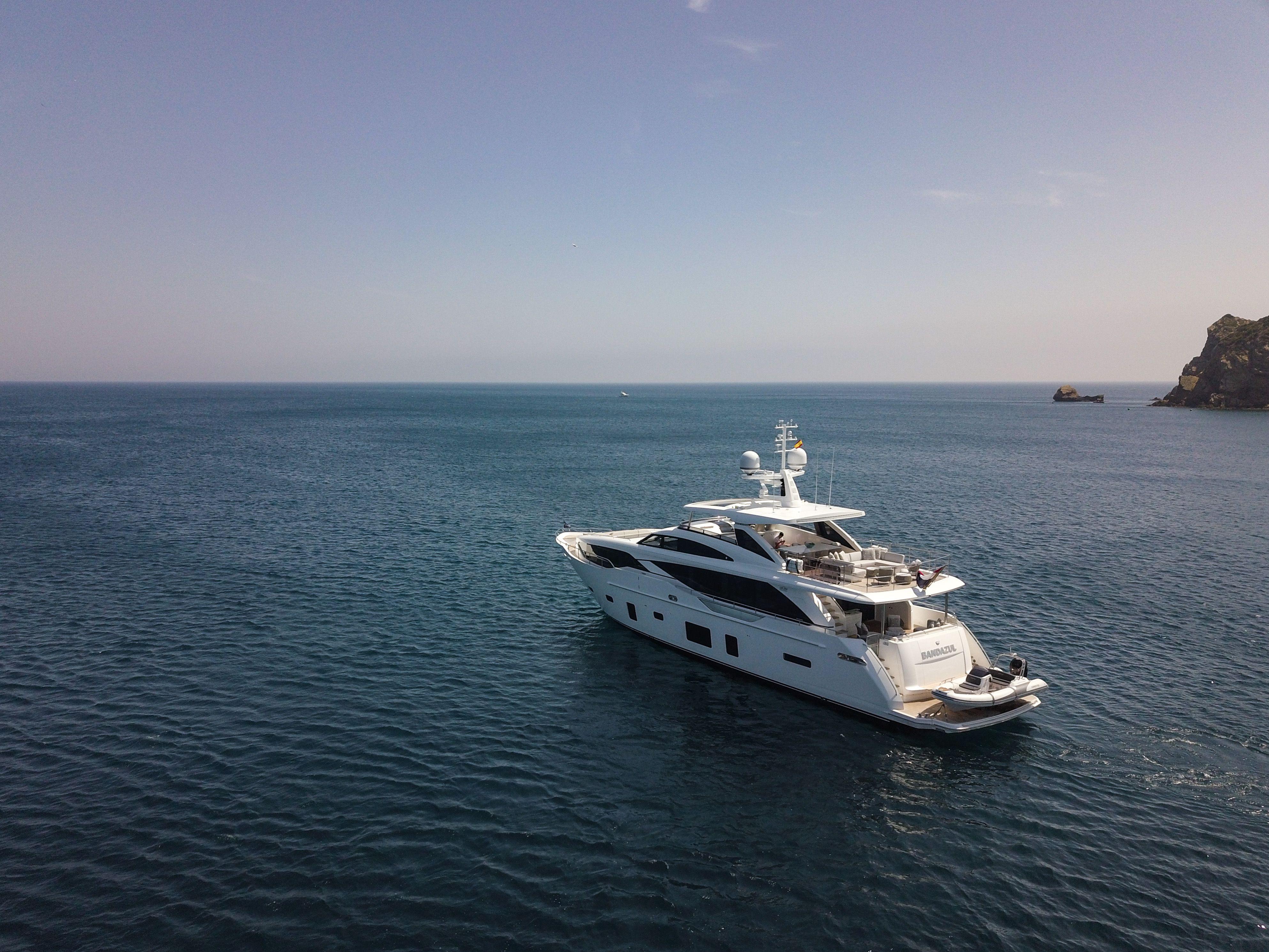 Luxury yacht BANDAZUL