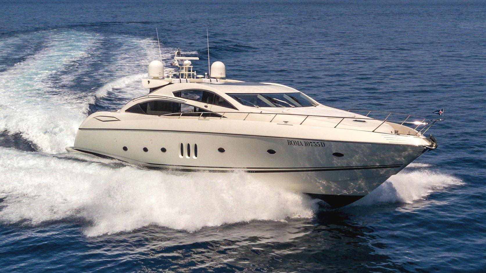 Luxury yacht OCTAVIA