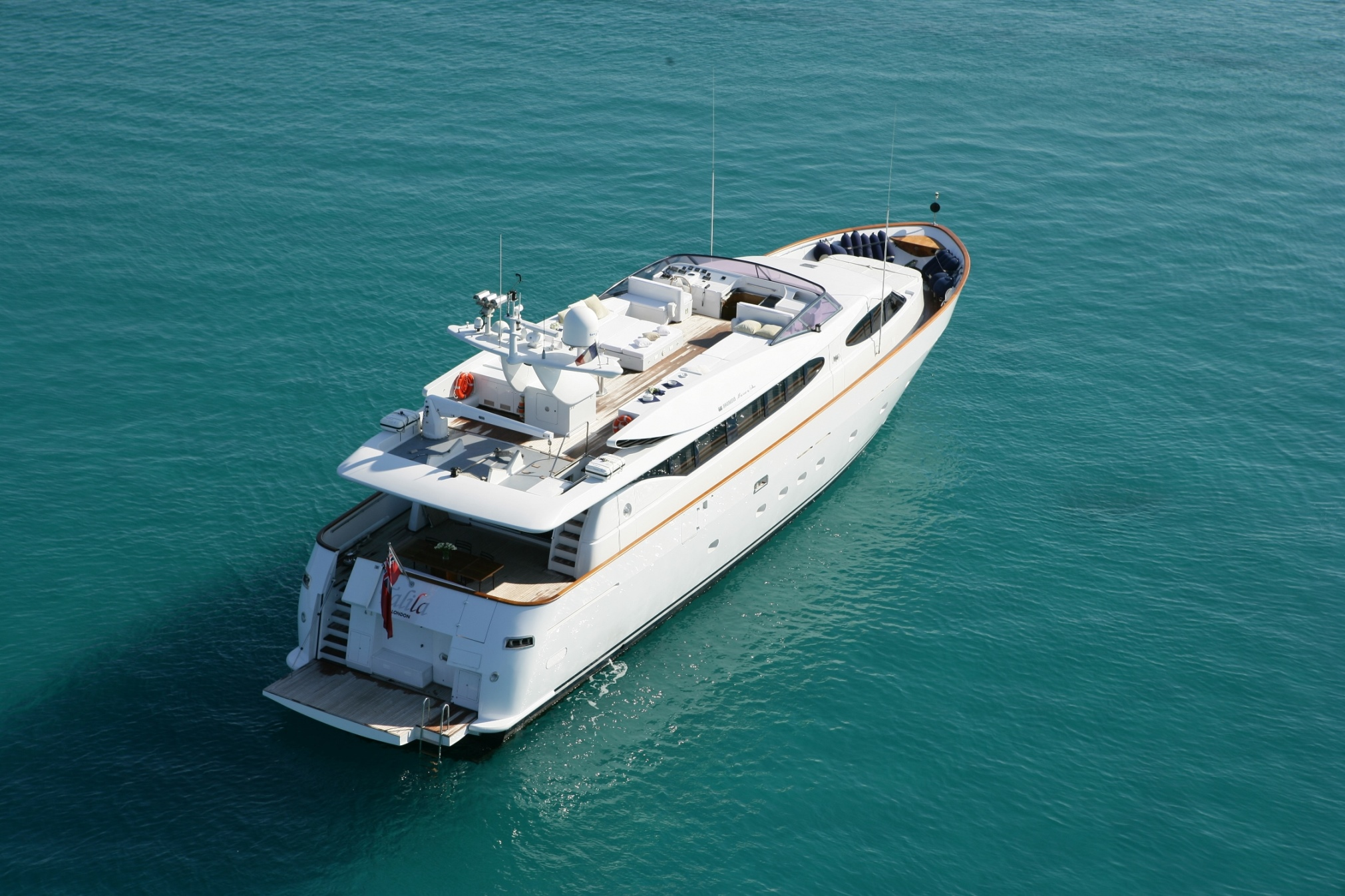 Luxury yacht TALILA
