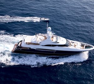 10% discount on West Med charters with 40m motor yacht MY WAY