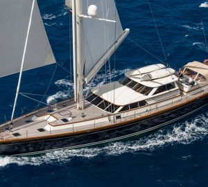 10% off remaining June charters aboard 108ft sailing yacht MARAE in New England