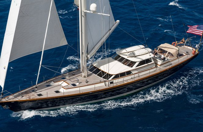 Marae sailing yacht available for charter in New England