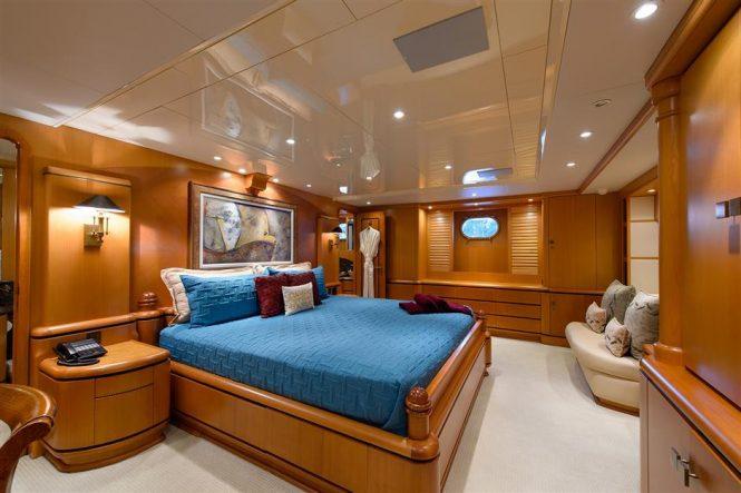 Master suite on Savannah