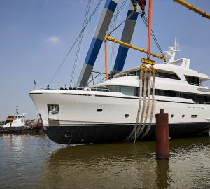 36-metre Moonen Martinique superyacht BRIGADOON launched
