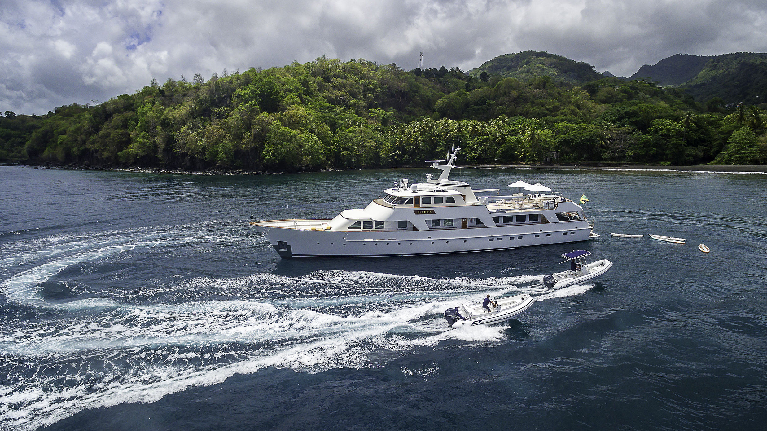 Motor yacht BERILDA - Photographed by Thierry Dehove