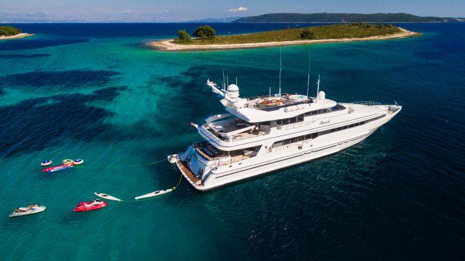 Motor yacht BRAZIL offering luxury crewed vacations