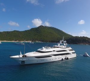 Special rate with 64m LIONESS V for Mediterranean charter vacations