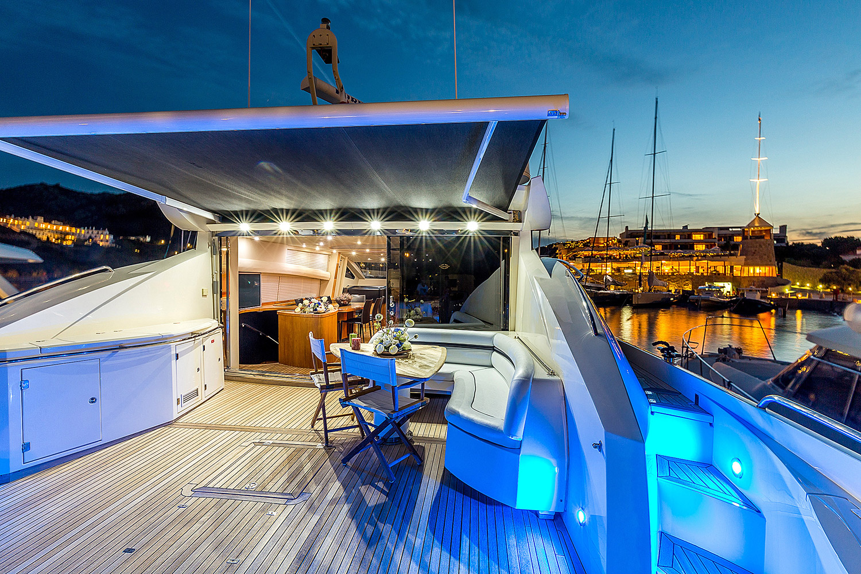 Motor yacht OCTAVIA in the Mediterranean