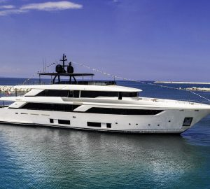 Ferretti launch New Custom Line Flagship Motor Yacht Navetta 42