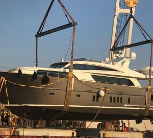 Motor Yacht Nicostasia launched by Van Der Valk