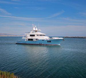 Nordhavn N100 motor yacht SERENITY delivered