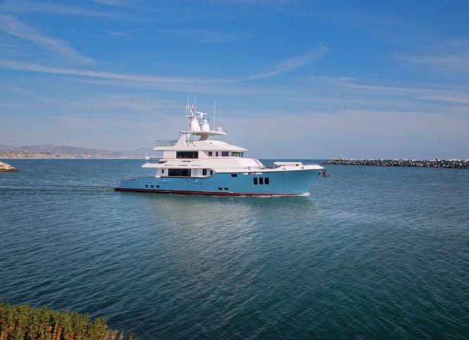 Nordhavn N100 superyacht SERENITY