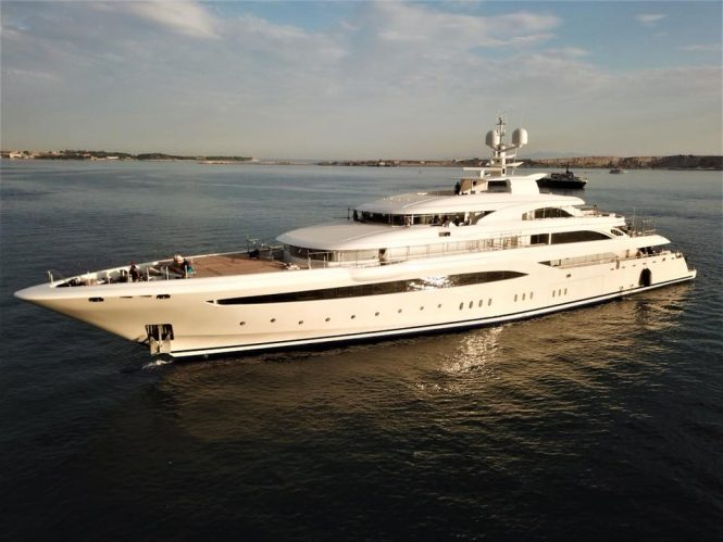 O'Ptasia mega yacht by Golden Yachts