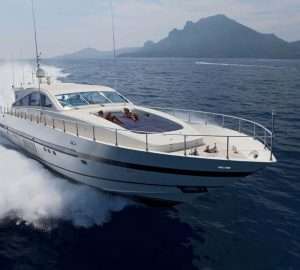 'No Delivery Fees' for Motor Yacht ROMACHRIS II in Greece