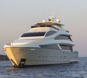 New Turkish motor yacht Skylight II currently under construction