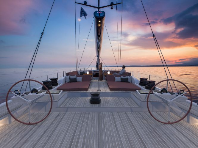 SWAN 98 luxury sailing yacht