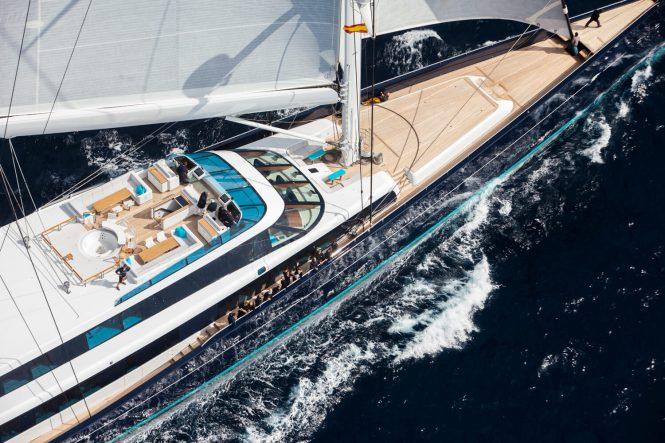 Sailing yacht AQUIJO - Photo Stuart Pearce
