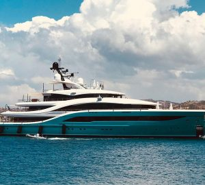 77m Turquoise Superyacht GO Delivered